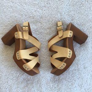 Bucco Heel Sandal